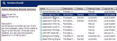Служба Active Directory Domain Services